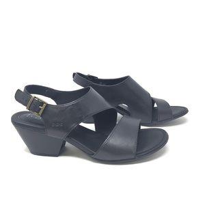 b.o.c Angulo Black Slingback Sandal Size 11 NIB